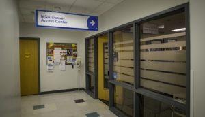 Access Center entrance