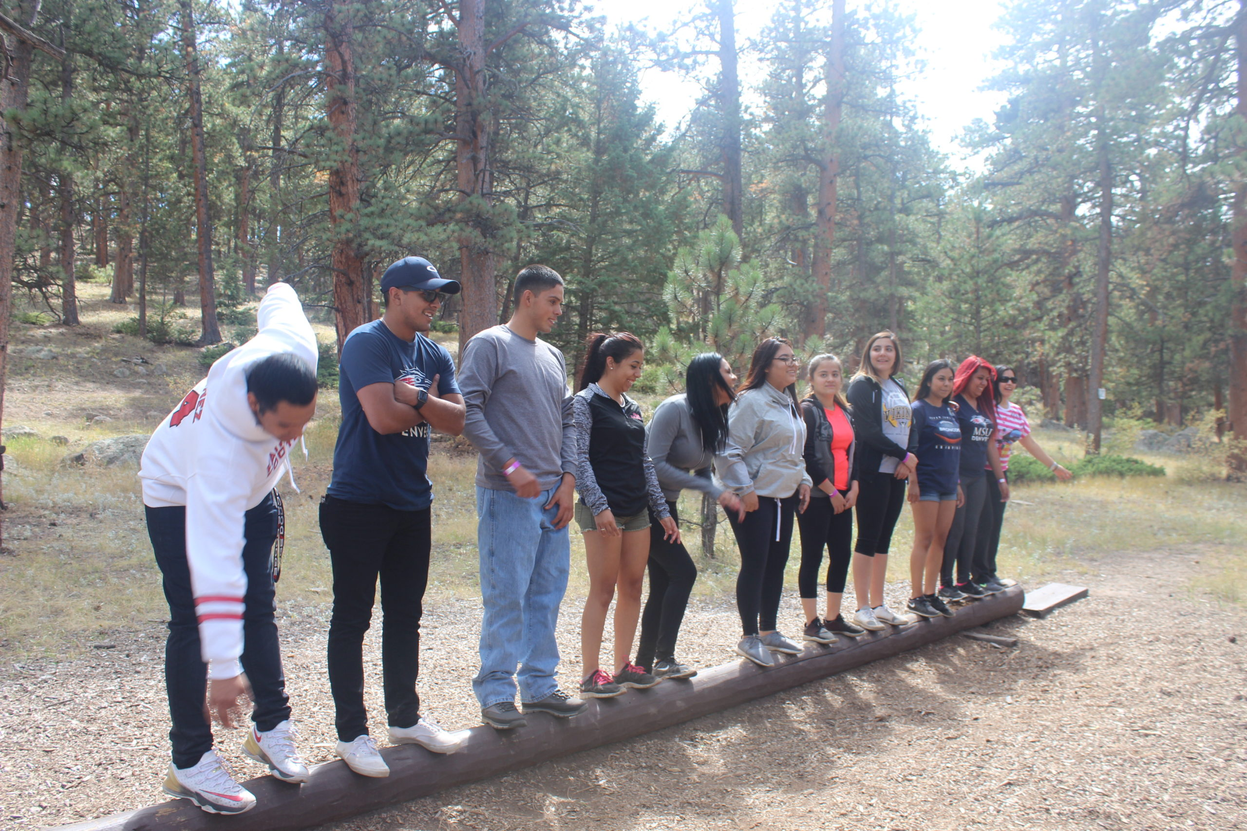Photo of CAMP scholars at the CAMP retreat