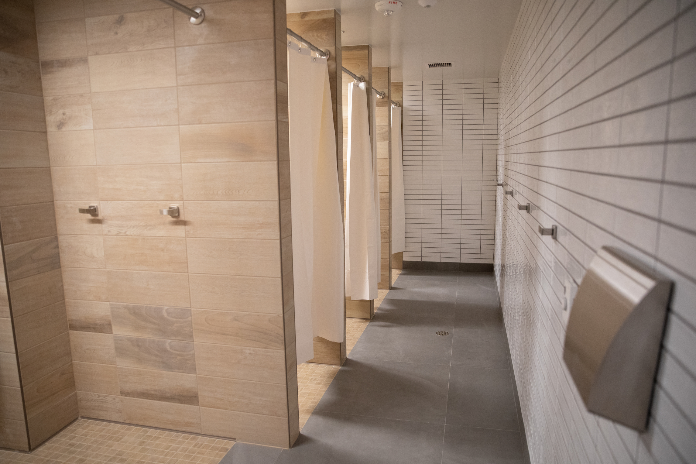 new private showers