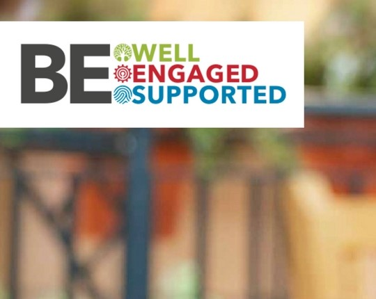 SEW BE Well Supported Engaged