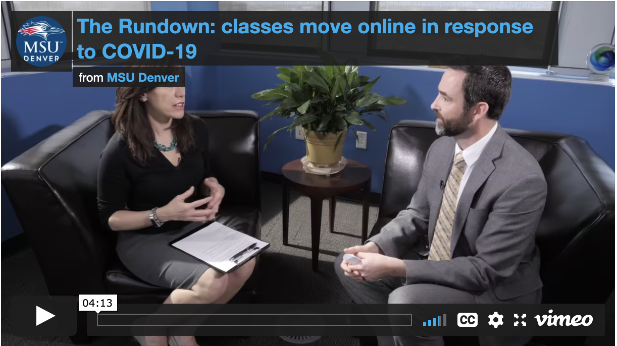 Thumbnail: The Rundown: Classes move online in response to COVID-19