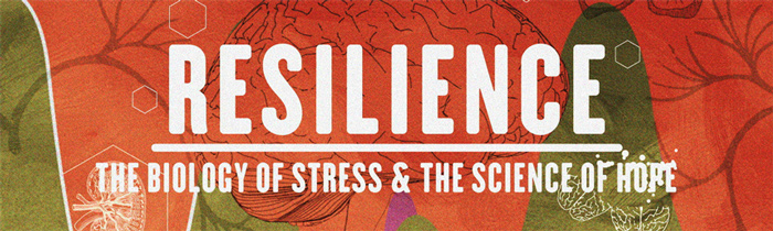Graphic promo image from the movie Resilience.